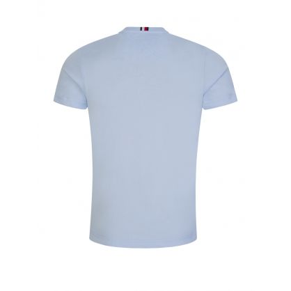 Blue Stacked Tommy Flag T-Shirt