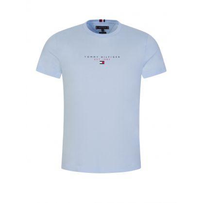 Light Blue Essential Logo T-Shirt