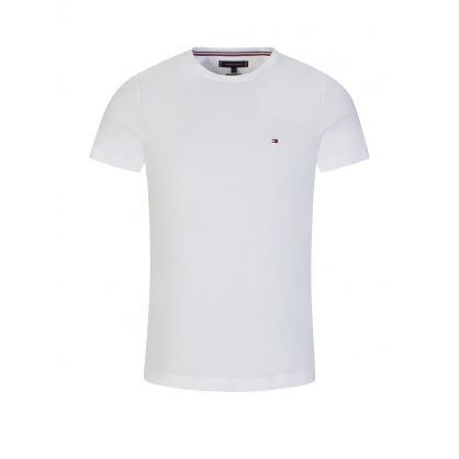 Tommy  Hilfiger White Back Logo T-Shirt