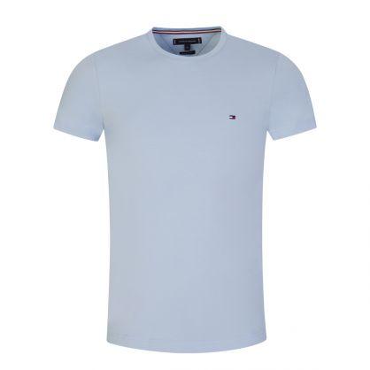 Blue Stretch Slim T-Shirt