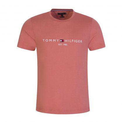 Faded Pink Logo T-Shirt