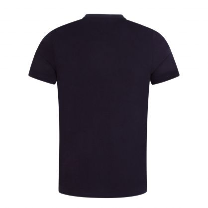 Navy Lines Graphic T-Shirt
