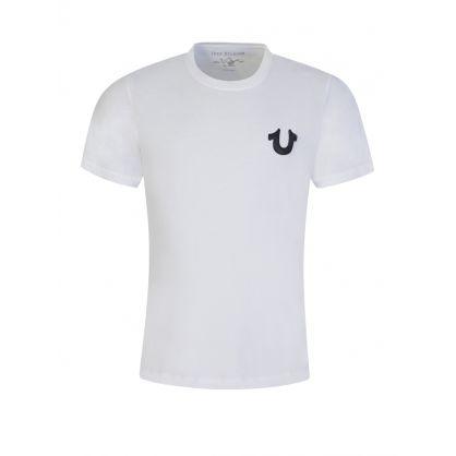 White Logo Classic T-Shirt