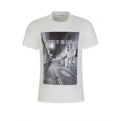 Grey Graphic Street T-Shirt