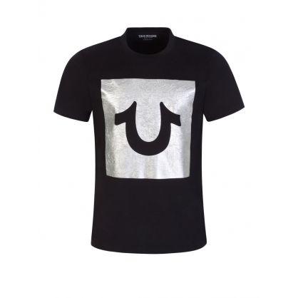 Black Foil Logo T-Shirt