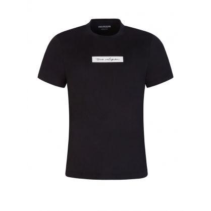 Black Script Logo T-Shirt