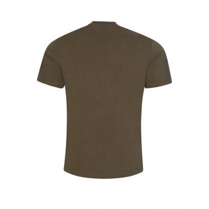 Green Signature Horseshoe Logo T-Shirt