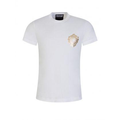 White Gold Emblem T-Shirt