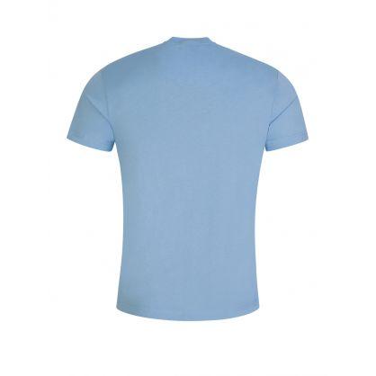 Blue Foil Logo T-Shirt