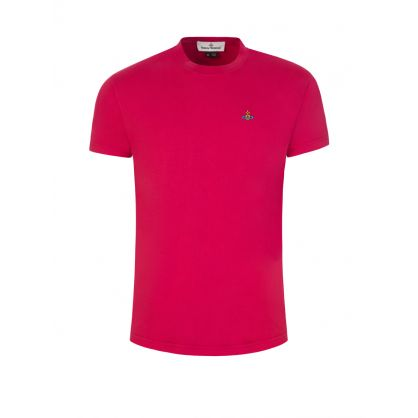 Red Classic Orb Logo T-Shirt