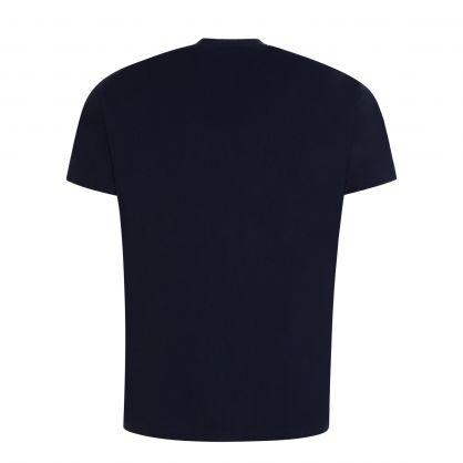 Navy Dripping Orb Classic T-Shirt