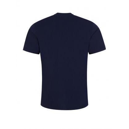 Navy Blue Double A Ace T-Shirt