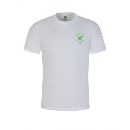 White/Green Ace T-Shirt