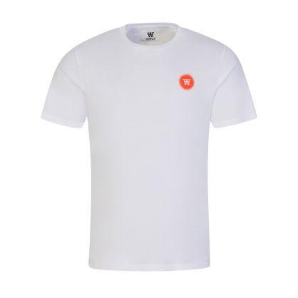 White/Orange Double A Ace T-Shirt