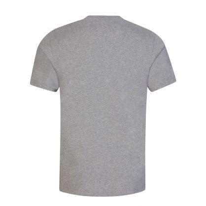 Grey/Black Double A Ace Oversized Logo T-Shirt