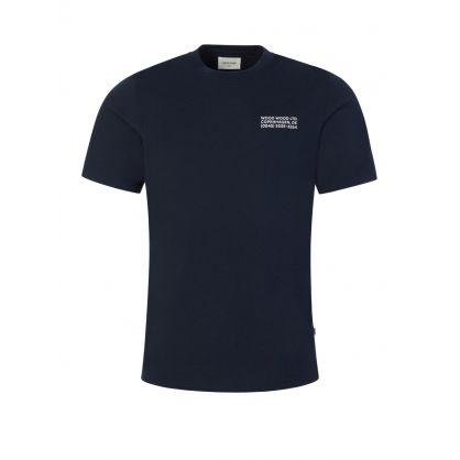 Navy Sami Info T-Shirt