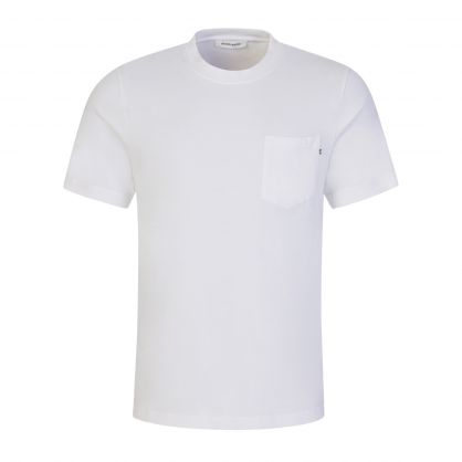 White Bobby Pocket T-Shirt