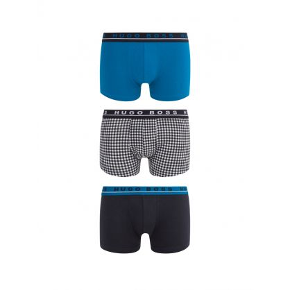 3-Pack Cotton Stretch Boxers