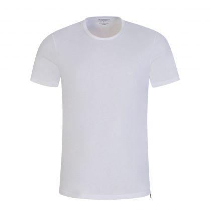 White/White Pure Cotton T-Shirts 2-Pack