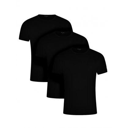 Black Crewneck T-Shirt 3-Pack
