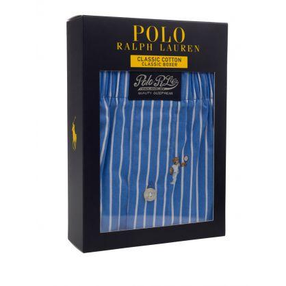 Blue/White Tennis Polo Bear Boxers