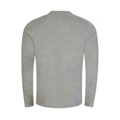 Grey Long Sleeve Sleep T-Shirt