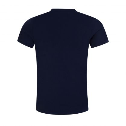 Navy Stretch Cotton Classic T-Shirts 2-Pack