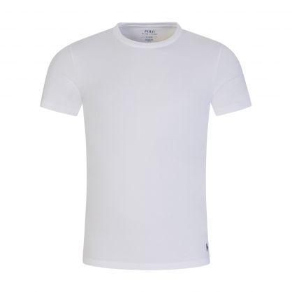 White/White Classic Stretch Cotton Undershirts 2-Pack