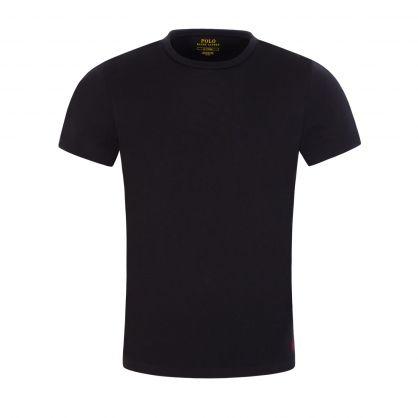 Black Classic Stretch Cotton Undershirts 2-Pack