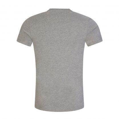 Grey Classic Stretch Cotton Undershirts 2-Pack