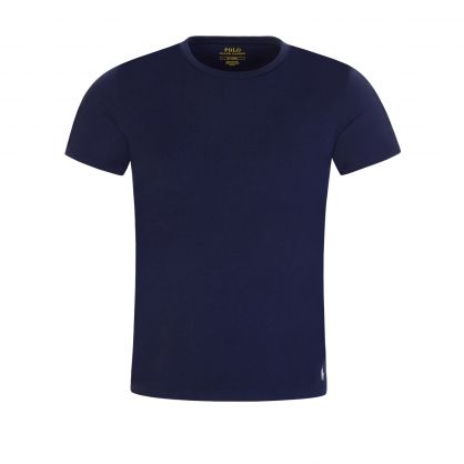 Navy Classic Stretch Cotton Undershirts 2-Pack