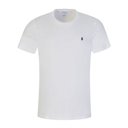 White Short Sleeve Sleep T-Shirt