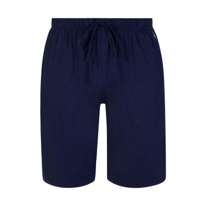 Navy Blue Sleep Shorts