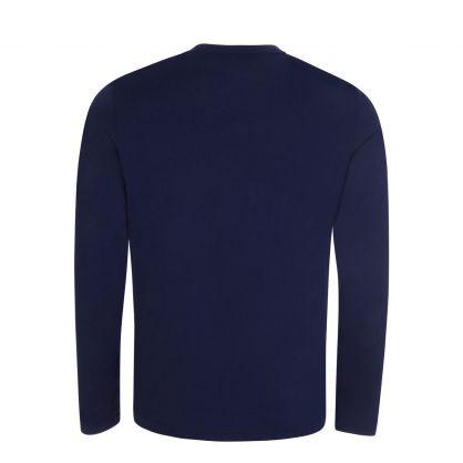 Navy Blue Long Sleeve T-Shirt