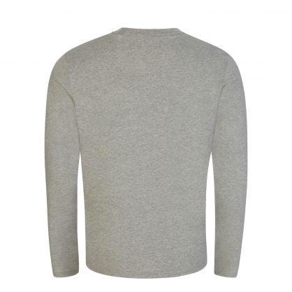 Light Grey Underwear Collection Long-Sleeve Sleep T-Shirt
