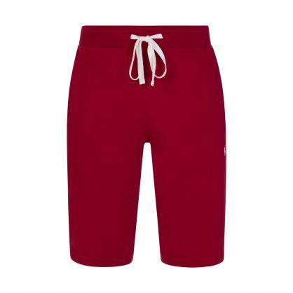 Red Logo Tape Sleep Shorts