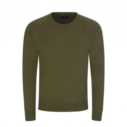 Green Long Sleeve Sleep T-Shirt