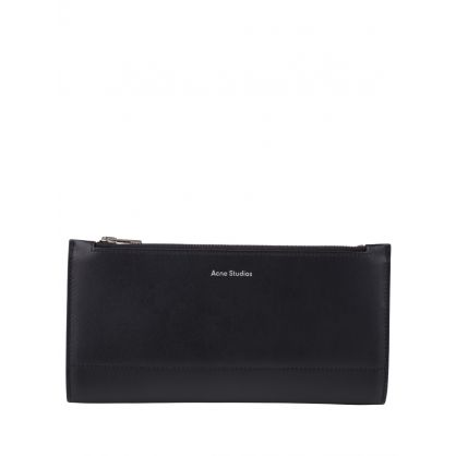 Black Andree Bi-Fold Continental Wallet