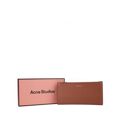 Brown Andree Bi-Fold Continental Wallet