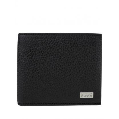 Black Crosstown Billfold Leather Card Wallet