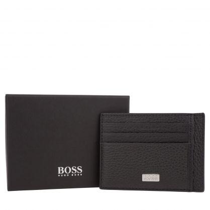 Menswear Black Crosstown Card Holder