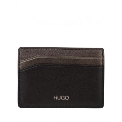 Black Card Holder & Money Clip Gift Set