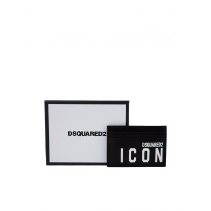 Black ICON Card Holder
