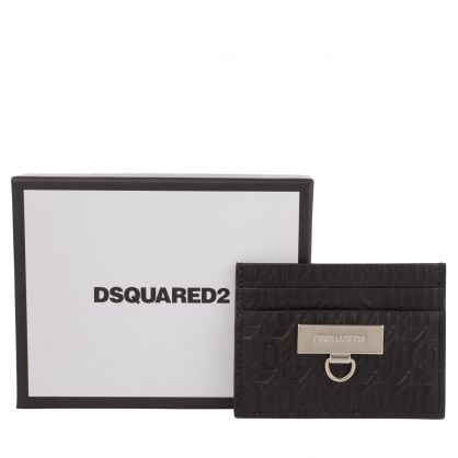 Black Chained2 Credit Card Holder