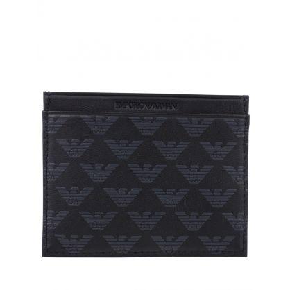 Black Card Holder & Keyring Gift Set