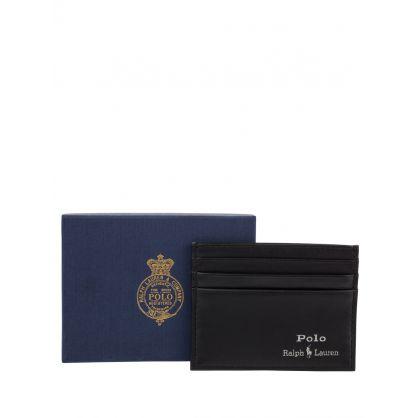 Black Suffolk Slim Leather Card Case