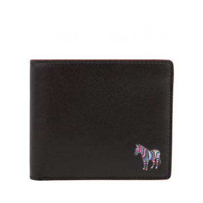 Black Zebra Billfold Wallet