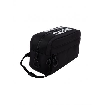Black Logo Wash Bag