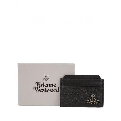 Black George Slim Card Holder