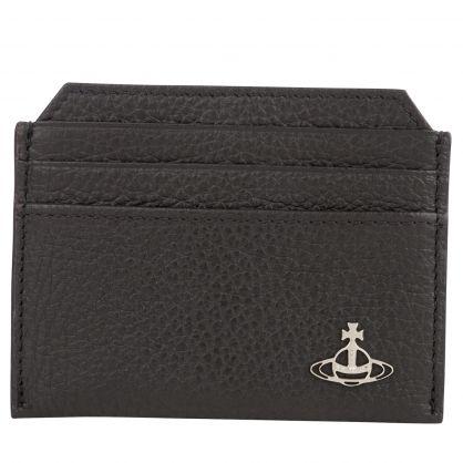 Black Milano Slim Card Holder